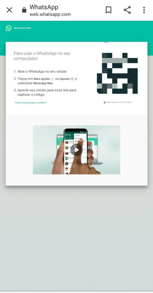 Como usar o whatsapp web: no celular, tablet (TUTORIAL 2021) 4