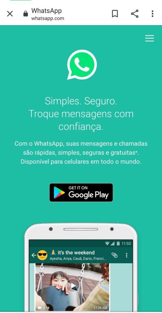 Como usar o whatsapp web: no celular, tablet (TUTORIAL 2021) 3