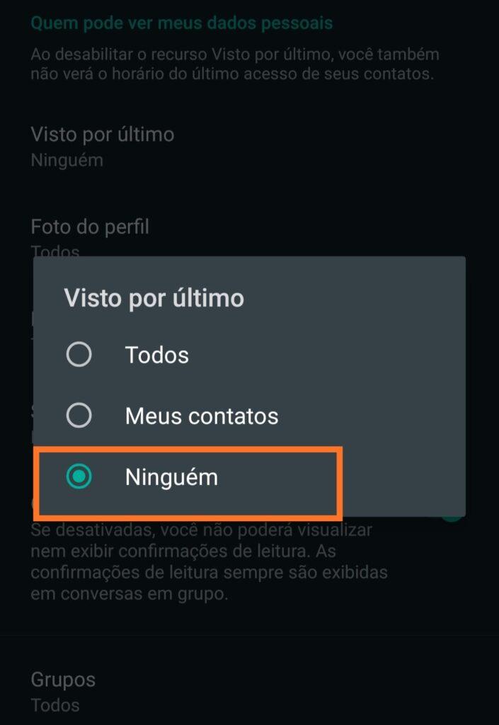 Como deixar o whatsapp offline [Atualizado 2021] 5